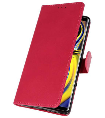 Samsung Galaxy Note 9 Roze | bookstyle / book case/ wallet case Wallet Cases Hoes  | WN™ - hoesjeshoek