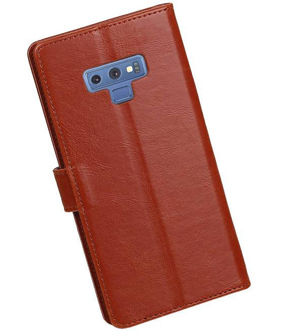 Samsung Samsung Galaxy Note 9 Bruin | Premium bookstyle / book case/ wallet case  | WN™ - hoesjeshoek