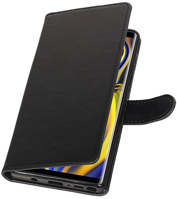 Samsung Samsung Galaxy Note 9 Zwart | Premium bookstyle / book case/ wallet case  | WN™ - hoesjeshoek
