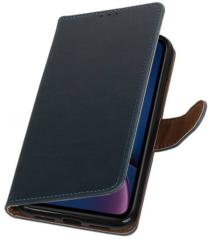 iPhone XR Blauw | Premium bookstyle / book case/ wallet case  | WN™ - hoesjeshoek