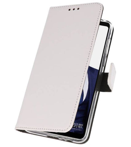 Huawei Note 10 Wit | Wallet Case Hoesje  | WN™ - hoesjeshoek