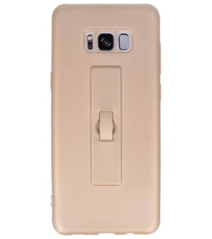 | Carbon series hoesje Samsung Samsung Galaxy S8 Plus Goud | WN™ - hoesjeshoek