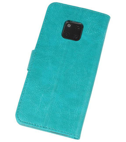 Huawei  Mate 20 Pro Groen | bookstyle / book case/ wallet case Wallet Case Hoesje  | WN™ - hoesjeshoek