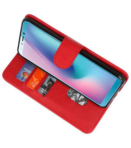 Honor View 20 Rood | bookstyle / book case/ wallet case Wallet Cases Hoes  | WN™ - hoesjeshoek