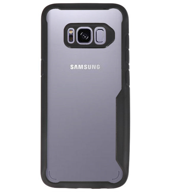 Samsung Samsung Galaxy S8 Zwart | Focus Transparant Hard Cases  | WN™ - hoesjeshoek