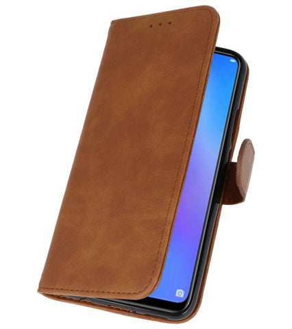 Huawei P Smart Plus Bruin | bookstyle / book case/ wallet case Wallet Cases Hoes  | WN™ - hoesjeshoek
