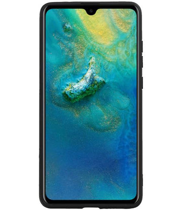 Huawei Mate 20 Blauw | Hexagon Hard Case  | WN™ - hoesjeshoek