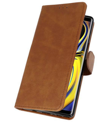 Samsung Galaxy Note 9 Bruin | bookstyle / book case/ wallet case Wallet Cases Hoes  | WN™ - hoesjeshoek