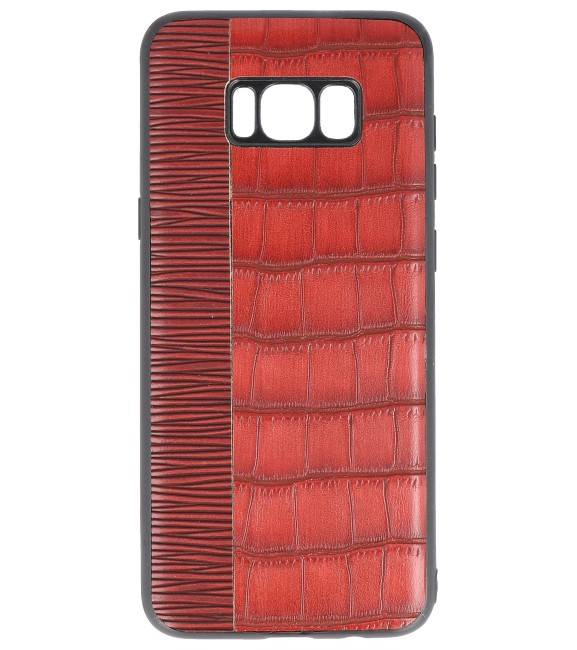 Samsung Samsung Galaxy S8 Plus Rood | Croco Hard Case  | WN™ - hoesjeshoek