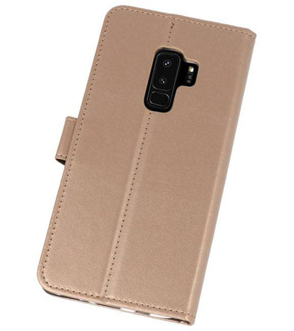 Samsung Galaxy S9 Plus Goud | Wallet Case Hoesje  | WN™ - hoesjeshoek