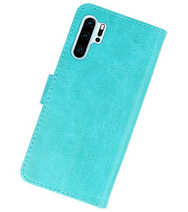 Huawei P30 Pro Groen | bookstyle / book case/ wallet case Wallet Case Hoesje  | WN™ - hoesjeshoek