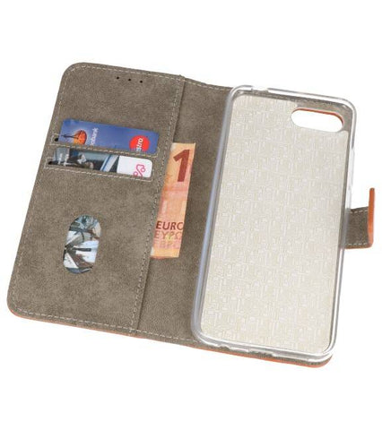 Honor 10 Bruin | bookstyle / book case/ wallet case Wallet Cases Hoes  | WN™ - hoesjeshoek