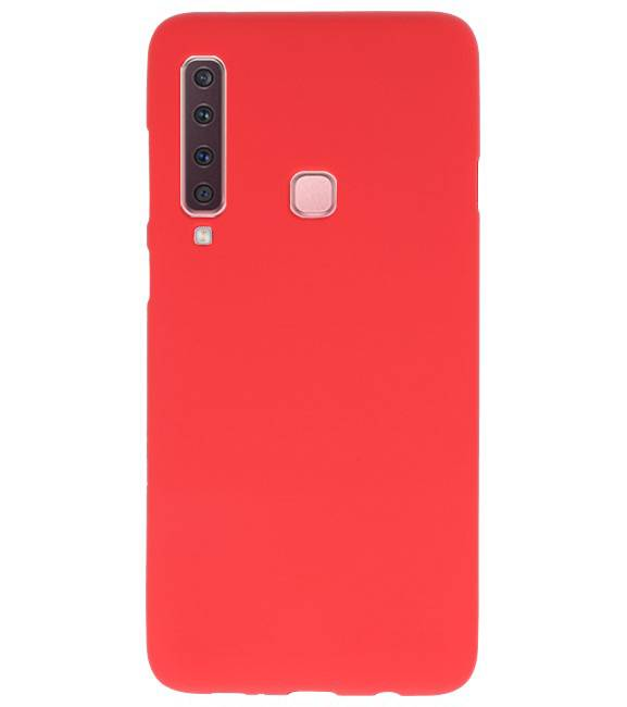 Samsung Samsung Galaxy A9 2018 Rood | Backcover Siliconen  Hoesje  | WN™ - hoesjeshoek
