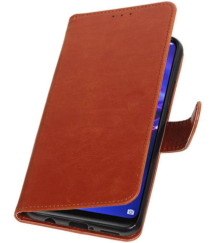 Huawei Mate 20 Lite Bruin | Premium bookstyle / book case/ wallet case  | WN™ - hoesjeshoek