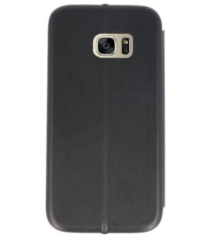 Samsung Galaxy S7 Zwart | Slim Folio Case  | WN™ - hoesjeshoek