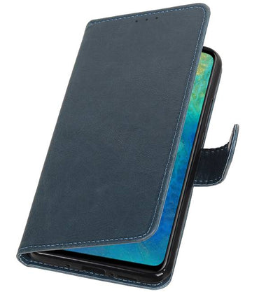 Huawei Mate 20 Blauw | Premium bookstyle / book case/ wallet case  | WN™ - hoesjeshoek