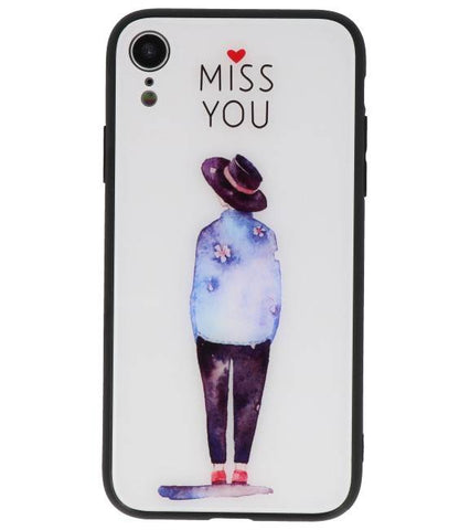 iPhone XR Miss You | Print Hardcase  | WN™ - hoesjeshoek