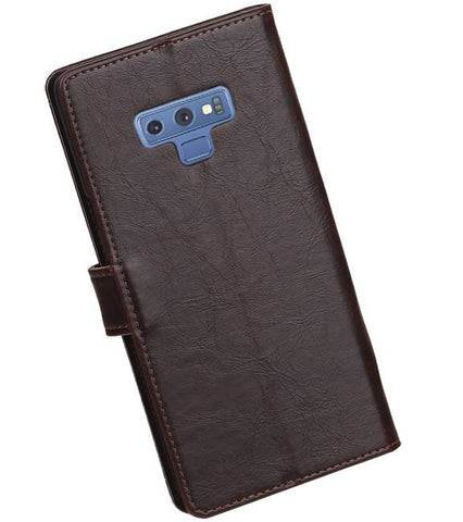 Samsung Samsung Galaxy Note 9 Mocca | Premium bookstyle / book case/ wallet case  | WN™ - hoesjeshoek