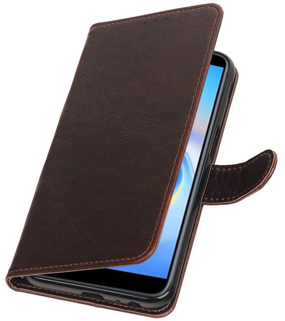 Samsung Samsung Galaxy J6 Plus Mocca | Premium bookstyle / book case/ wallet case  | WN™ - hoesjeshoek