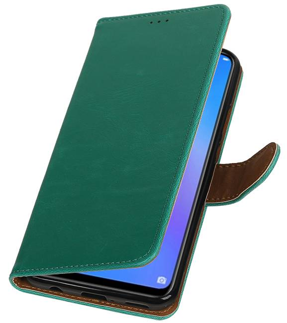 Huawei P Smart Plus Groen | Premium bookstyle / book case/ wallet case  | WN™ - hoesjeshoek