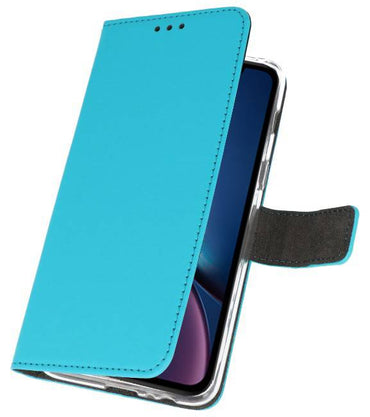 iPhone XR Blauw | Wallet Case Hoesje  | WN™ - hoesjeshoek