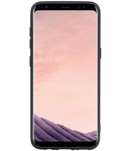 Samsung Galaxy S8 Navy | Staand Back Cover 1 Pasjes  | WN™ - hoesjeshoek