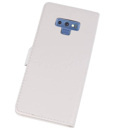 Samsung Galaxy Note 9 Wit | bookstyle / book case/ wallet case Wallet Cases Hoes  | WN™ - hoesjeshoek