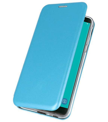 Samsung Galaxy J6 2018 Blauw | Slim Folio Case  | WN™ - hoesjeshoek
