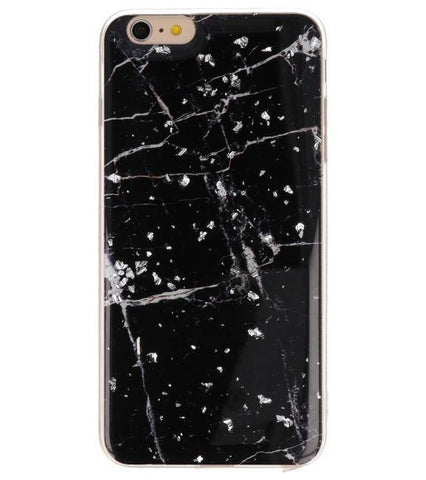 iPhone 6 Plus Marble Zwart | Print Hardcase  | WN™ - hoesjeshoek