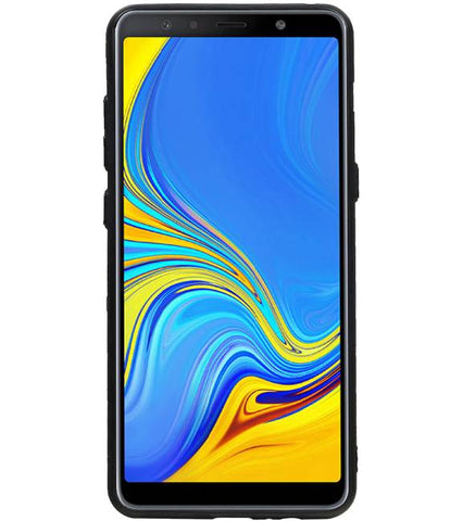 Samsung Samsung Galaxy A8 Plus 2018 Grijs | Hexagon Hard Case  | WN™ - hoesjeshoek