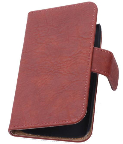 Huawei Huawei Ascend P7 Rood | Bark bookstyle / book case/ wallet case Hoes  | WN™ - hoesjeshoek