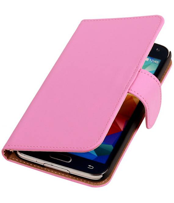 Samsung Galaxy S5 G900F Roze | bookstyle / book case/ wallet case Hoes  | WN™ - hoesjeshoek