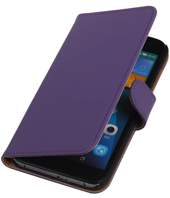 Huawei Huawei Ascend G7 Paars | bookstyle / book case/ wallet case Hoes  | WN™ - hoesjeshoek