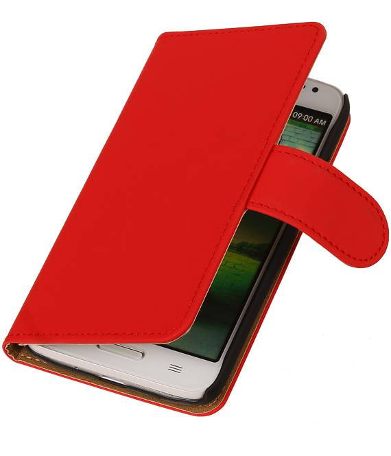 LG Optimus L80 Rood | bookstyle / book case/ wallet case Hoes  | WN™ - hoesjeshoek
