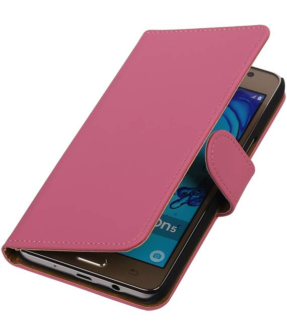 Samsung Galaxy On 5 Roze | bookstyle / book case/ wallet case Hoes  | WN™ - hoesjeshoek