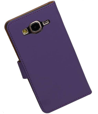 Samsung Galaxy On 5 Paars | bookstyle / book case/ wallet case Hoes  | WN™ - hoesjeshoek