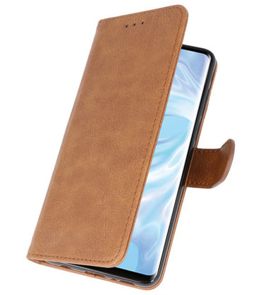Huawei P30 Pro Bruin | bookstyle / book case/ wallet case Wallet Case Hoesje  | WN™ - hoesjeshoek
