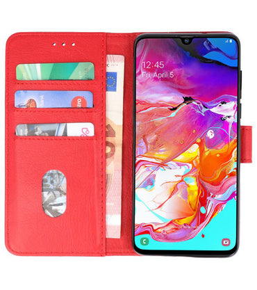 Samsung Samsung galaxy a8 20150 / A90 Rood | bookstyle / book case/ wallet case Wallet Case Hoesje  | WN™ - hoesjeshoek