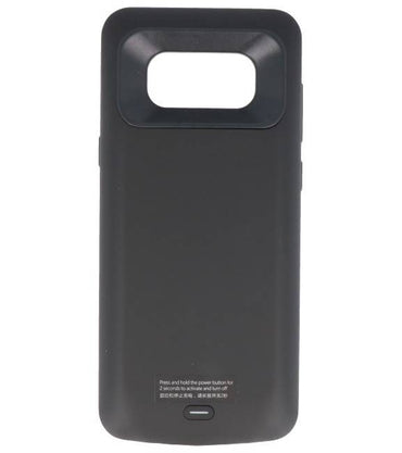 Samsung Galaxy S8 Plus 5500 mAh Zwart | Powerbank case hoes  | WN™ - hoesjeshoek