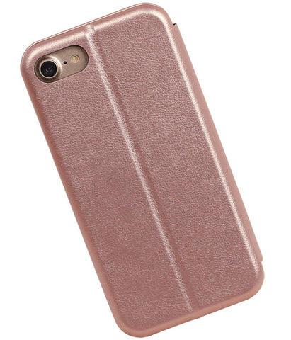 iPhone 8 / 7 Roze | Slim Folio Case  | WN™ - hoesjeshoek