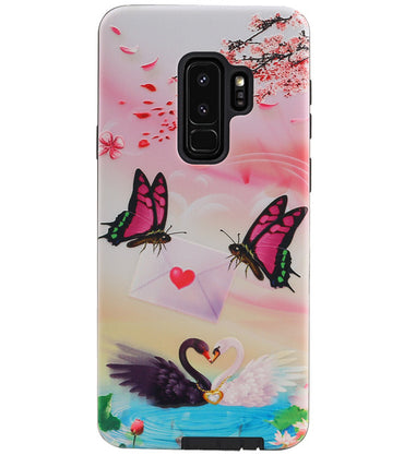 Samsung Samsung Galaxy S9 Plus | Vlinder Design Hardcase Backcover  | WN™ - hoesjeshoek