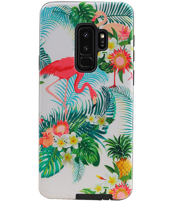 Samsung Samsung Galaxy S9 Plus | Flamingo Design Hardcase Backcover  | WN™ - hoesjeshoek