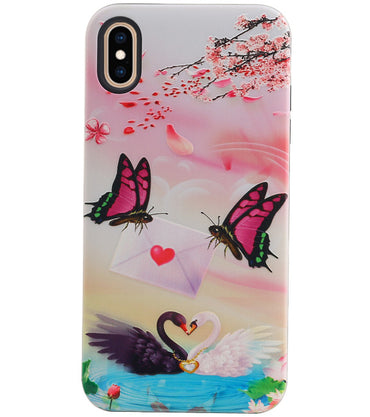 iPhone XS Max | Vlinder Design Hardcase Backcover  | WN™ - hoesjeshoek