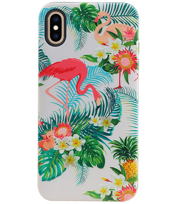 iPhone XS Max | Flamingo Design Hardcase Backcover  | WN™ - hoesjeshoek