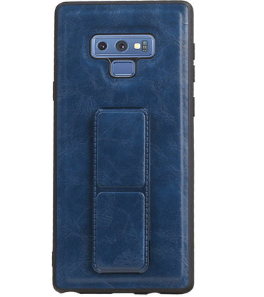 Samsung Samsung Galaxy Note 9 Blauw | Grip Stand Hardcase Backcover  | WN™ - hoesjeshoek