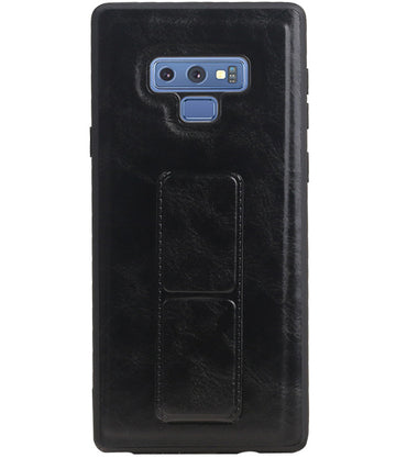 Samsung Samsung Galaxy Note 9 Zwart | Grip Stand Hardcase Backcover  | WN™ - hoesjeshoek
