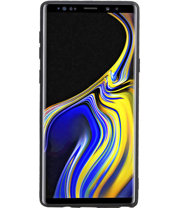 Samsung Samsung Galaxy Note 9 Bruin | Grip Stand Hardcase Backcover  | WN™ - hoesjeshoek
