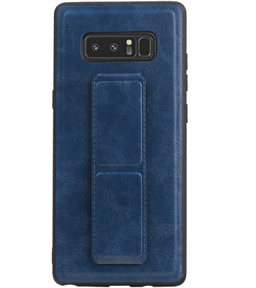 Samsung Samsung Galaxy Note 8 Blauw | Grip Stand Hardcase Backcover  | WN™ - hoesjeshoek