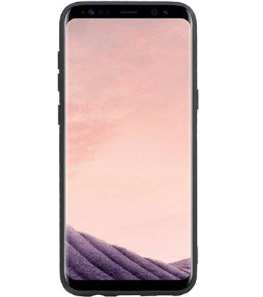 Samsung Samsung Galaxy S8 Plus Blauw | Grip Stand Hardcase Backcover  | WN™ - hoesjeshoek