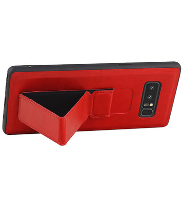 Samsung Samsung Galaxy Note 8 Rood | Grip Stand Hardcase Backcover  | WN™ - hoesjeshoek
